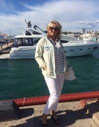 Лиля и яхта