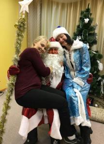 Лена Евстифеева и Дед Мороз