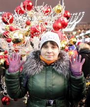 Лена_в_Новый год