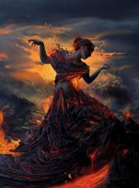 Женщина-Огонь