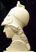 Афина в шлеме