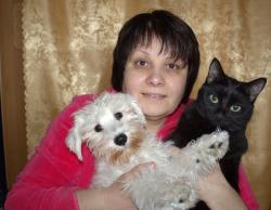 Лена и пёс-и-кот