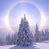 Февральский солнечный круг
